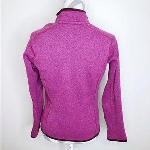 Patagonia Jackets & Coats - PATAGONIA Magenta Zip Up Wool Jacket